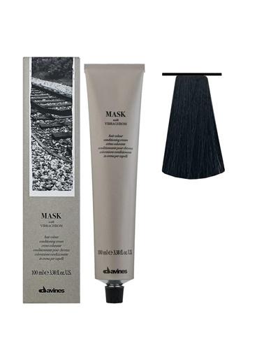 Davines Davines Mask Vibrachrom Saç Boyası 2,0 Çok Koyu Kahve 100 Ml Renksiz